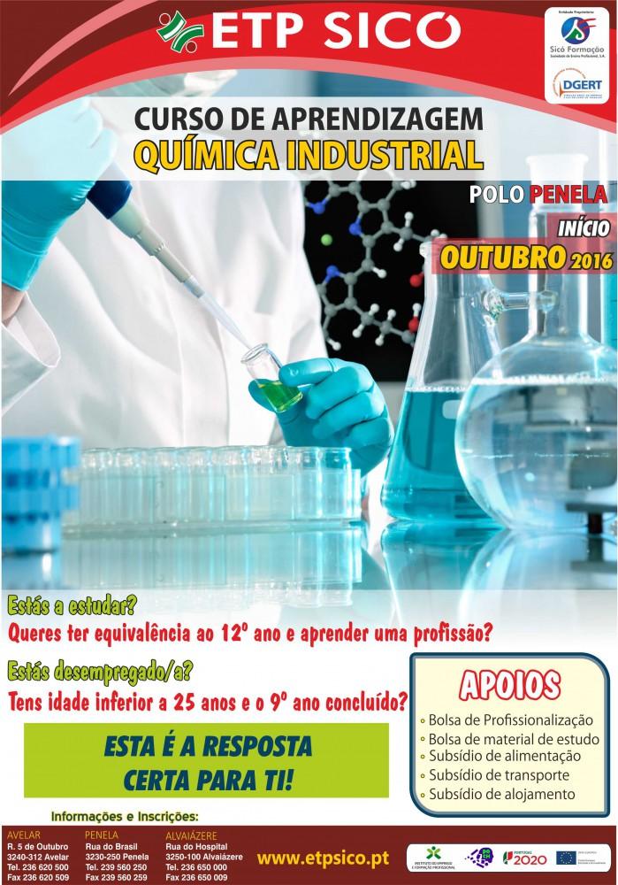 curso de aprendizagem de quimica industrial